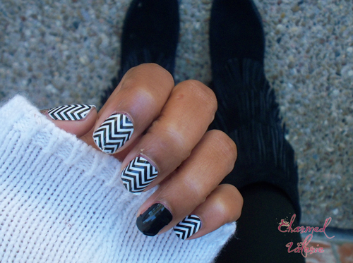 """""""ring finger nail trend"""", jamberry nails"""